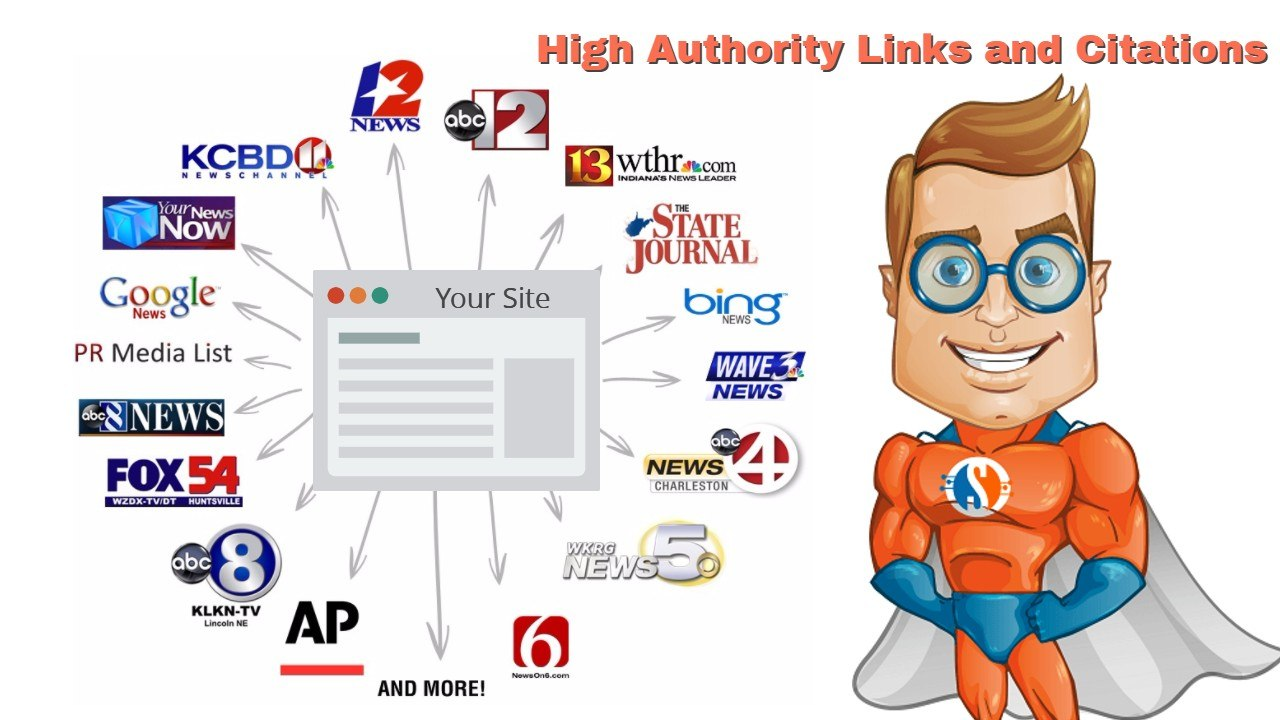 backlinks list of news site citations